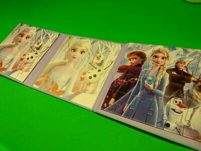 Frozen - მაგნიტური ფაზლი - წიგნი