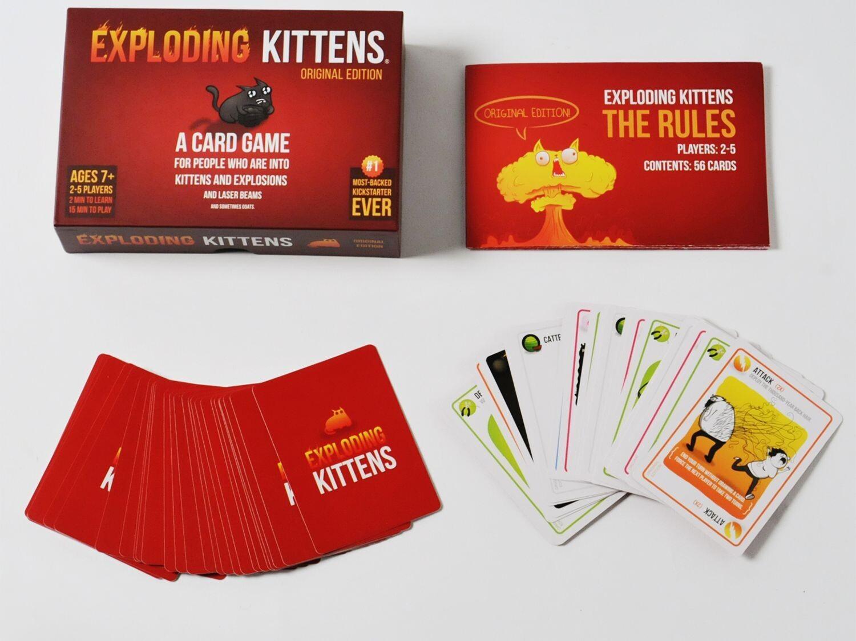 სამაგიდო თამაშები - Exploading kittens