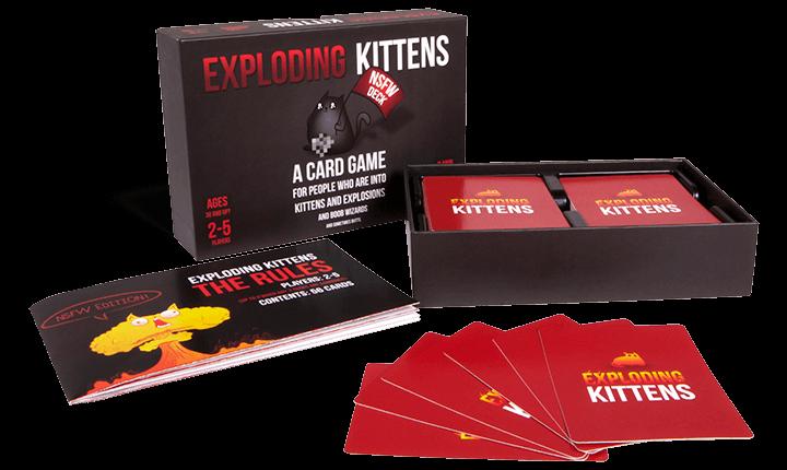 სამაგიდო თამაში - Exploading kittens