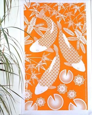 Koi Fish - Tea towel