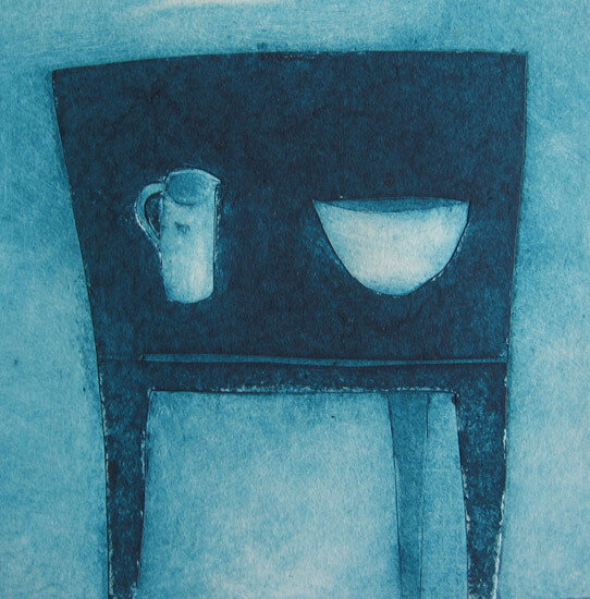 Little Blue Table