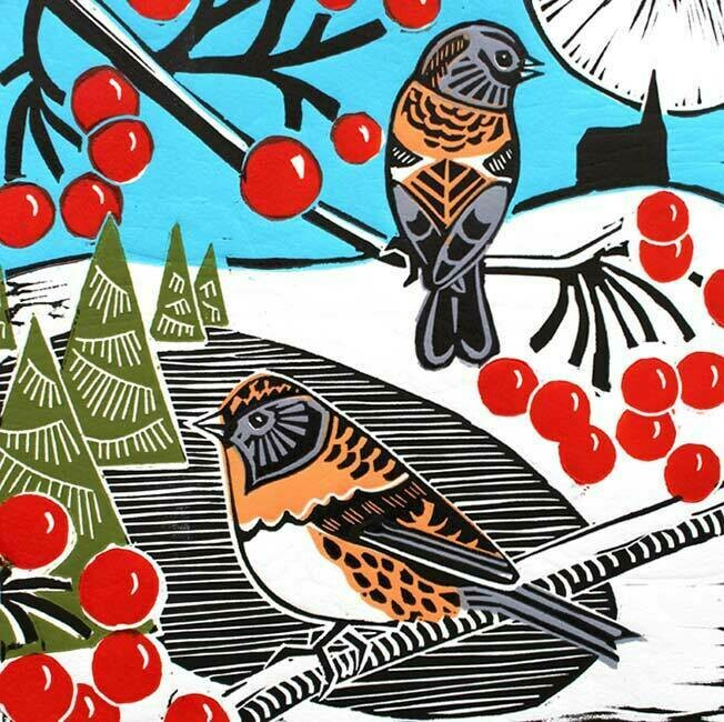 Bramblings and Berries