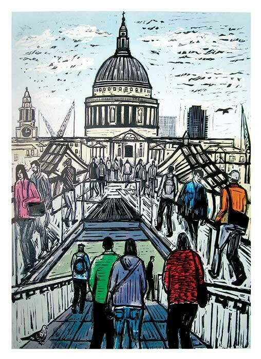 Bridge to St Pauls