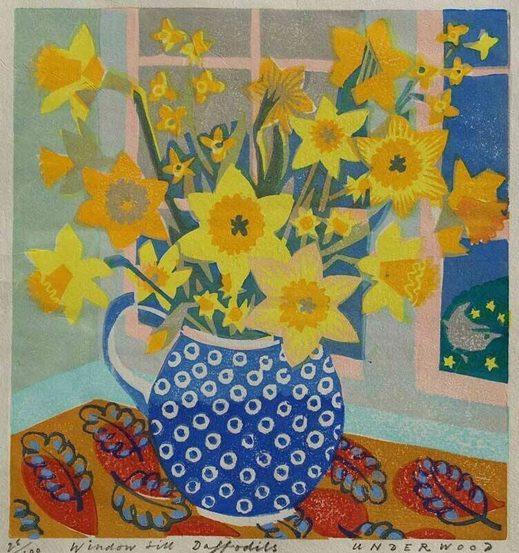 Window Sill Daffodils