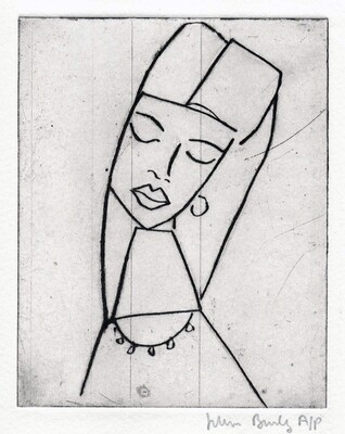 Girl in a Headdress