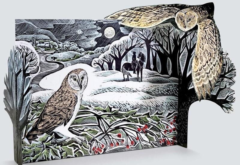 Winter Owl Advent Calendar