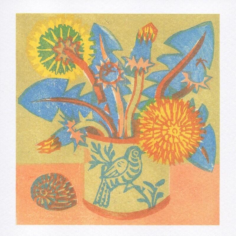 Dandelions - Card