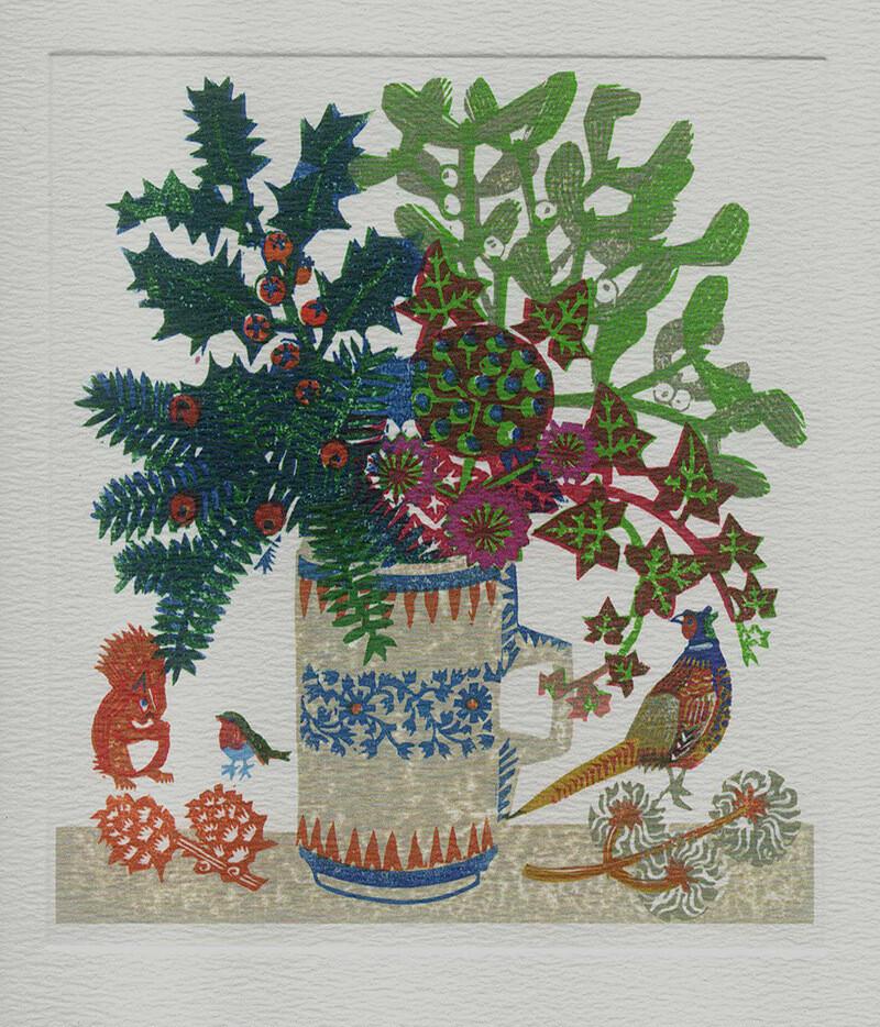 Seasons Greetings -Printmakers Card