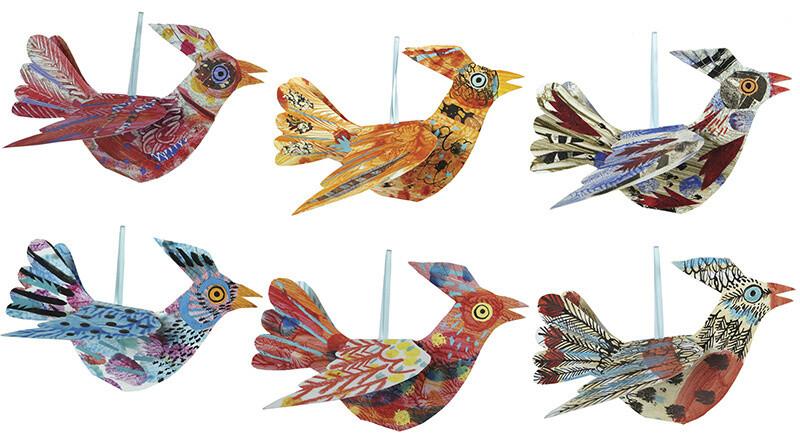 Flock II - Flying  Bird Card