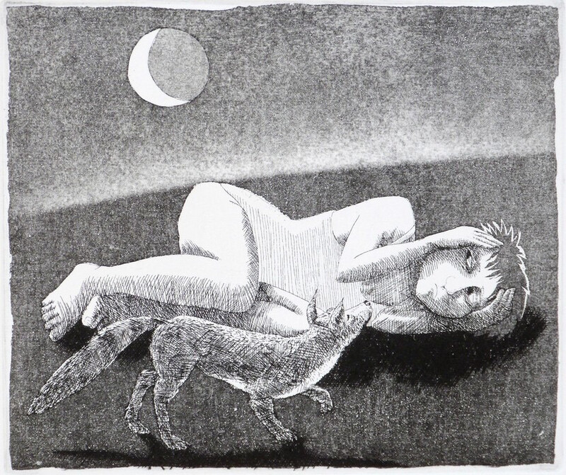 The Girl who was afraid of the Moon