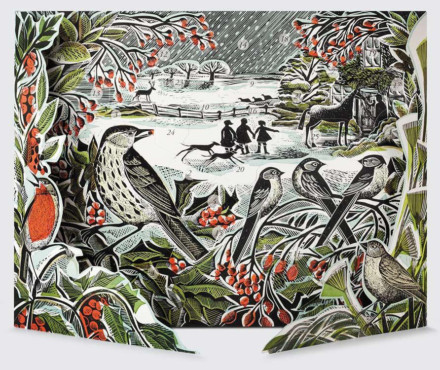 Holly Hedge -Advent Calendar