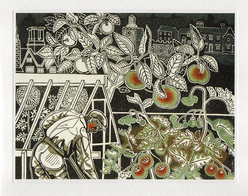 Autumn - Printmakers Art Card