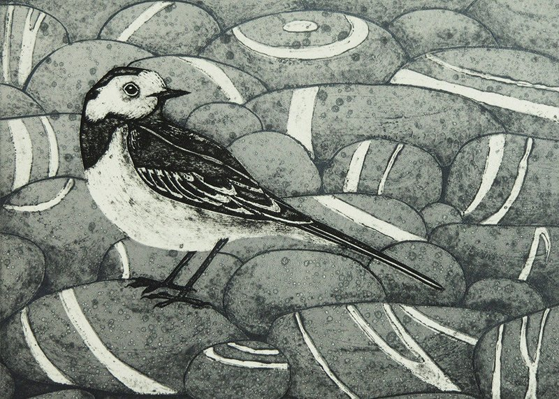 Pied Beauty - Printmakers  Card