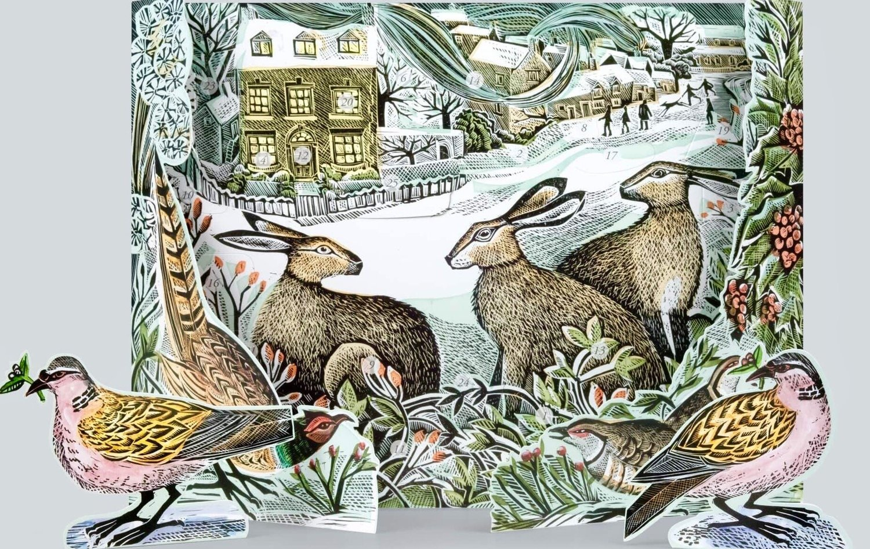 We Three Hares - Advent Calendar