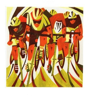 Road Race - Printmakers Card