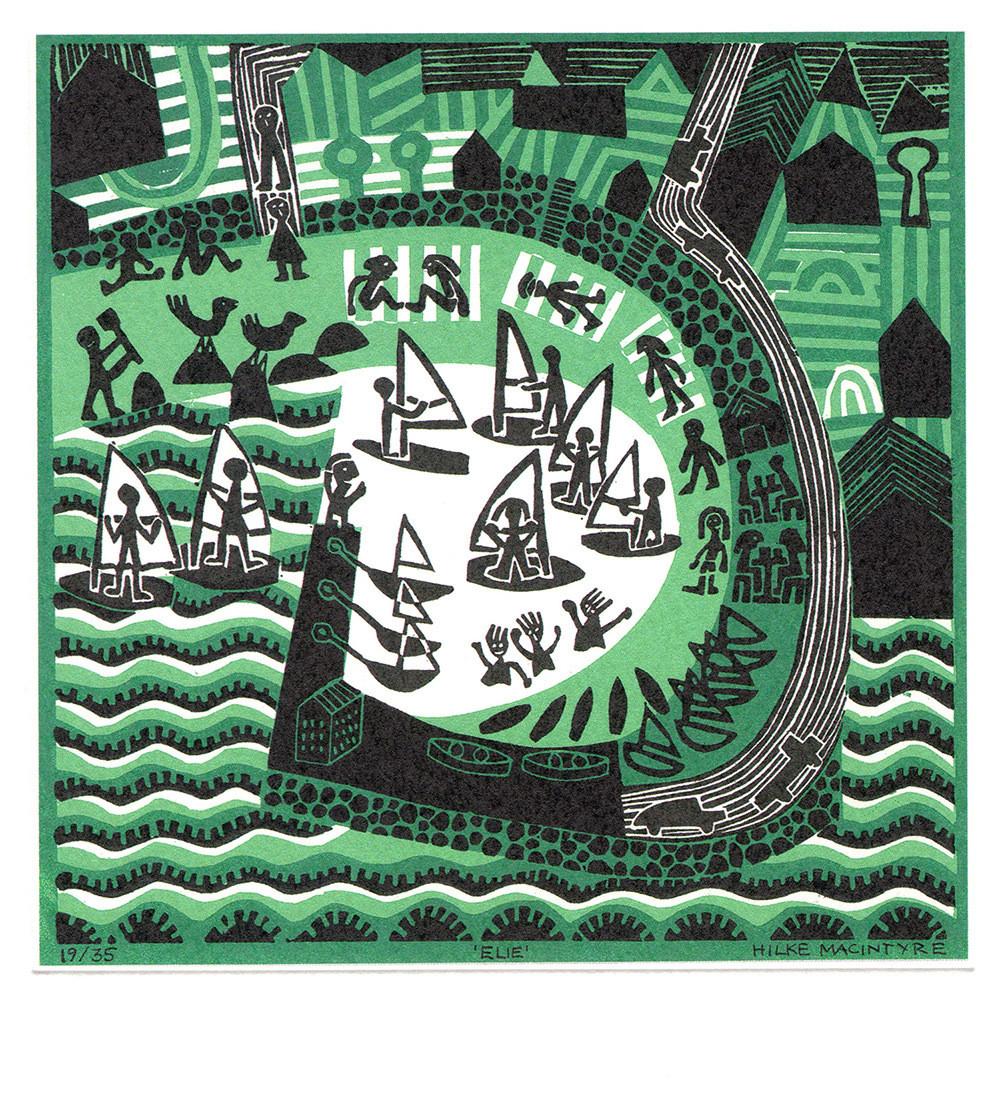 Elie- Printmakers Card