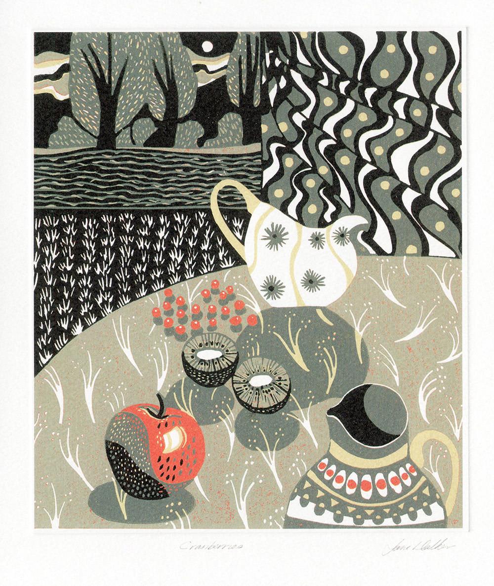 Cranberries - Printmakers Card