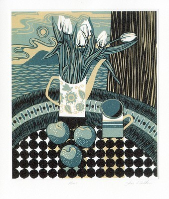 Plums- Printmakers Card
