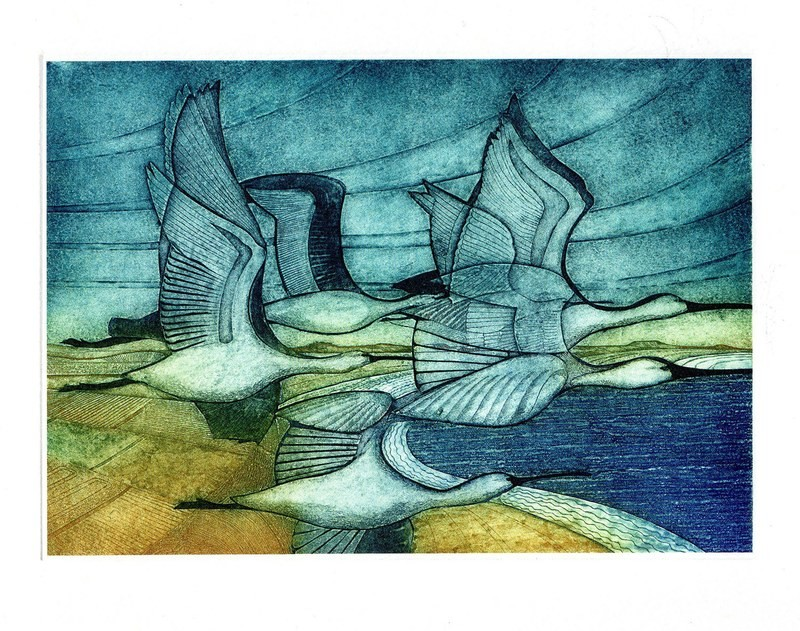 En Passage - Printmakers Card