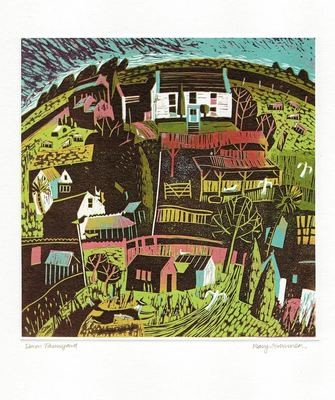 Devon Farmyard - Printmakers Card