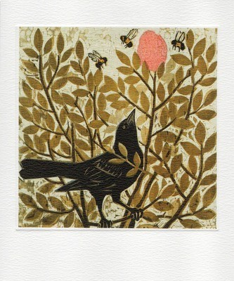 Hunt & Gather - Printmakers Art Card