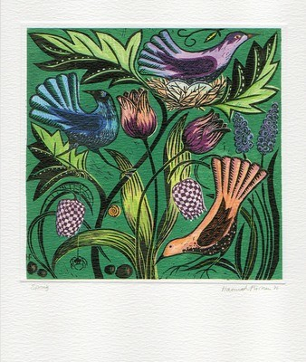 Spring - Printmakers Art Card