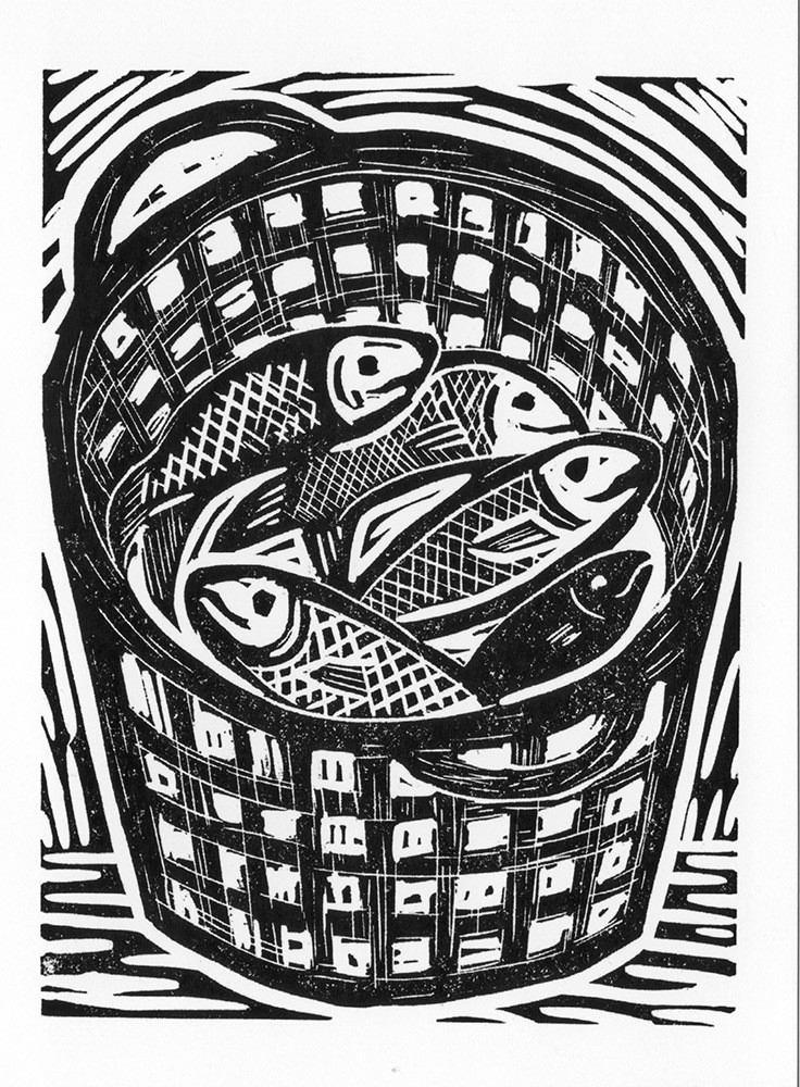 Fish Basket-Gallery Artists Card