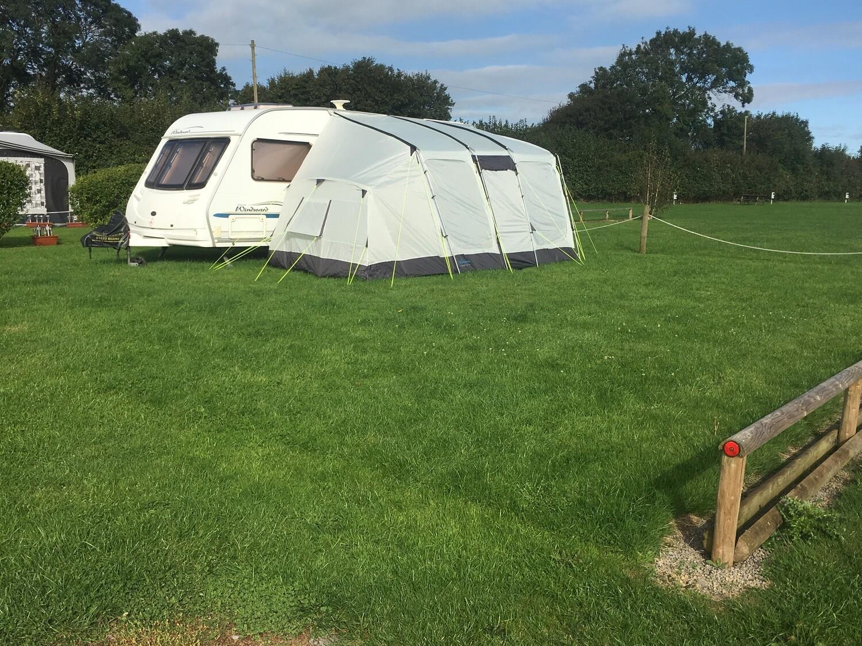 1 Night - Standard Grass Caravan/Motorhome/Tent Pitch inc 2 adults