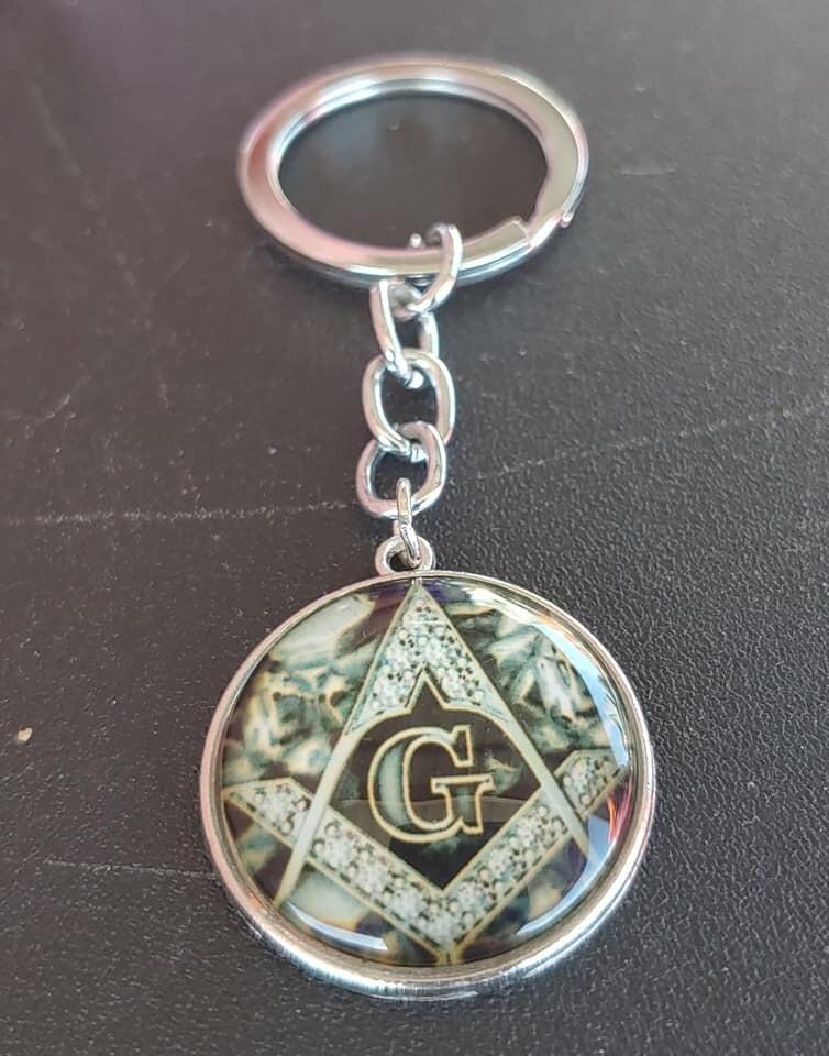 Masonic Emblem Keychain