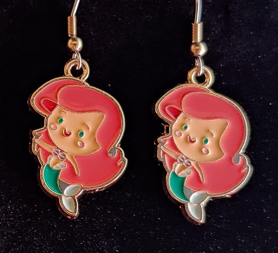 Mermaid Girl Earrings