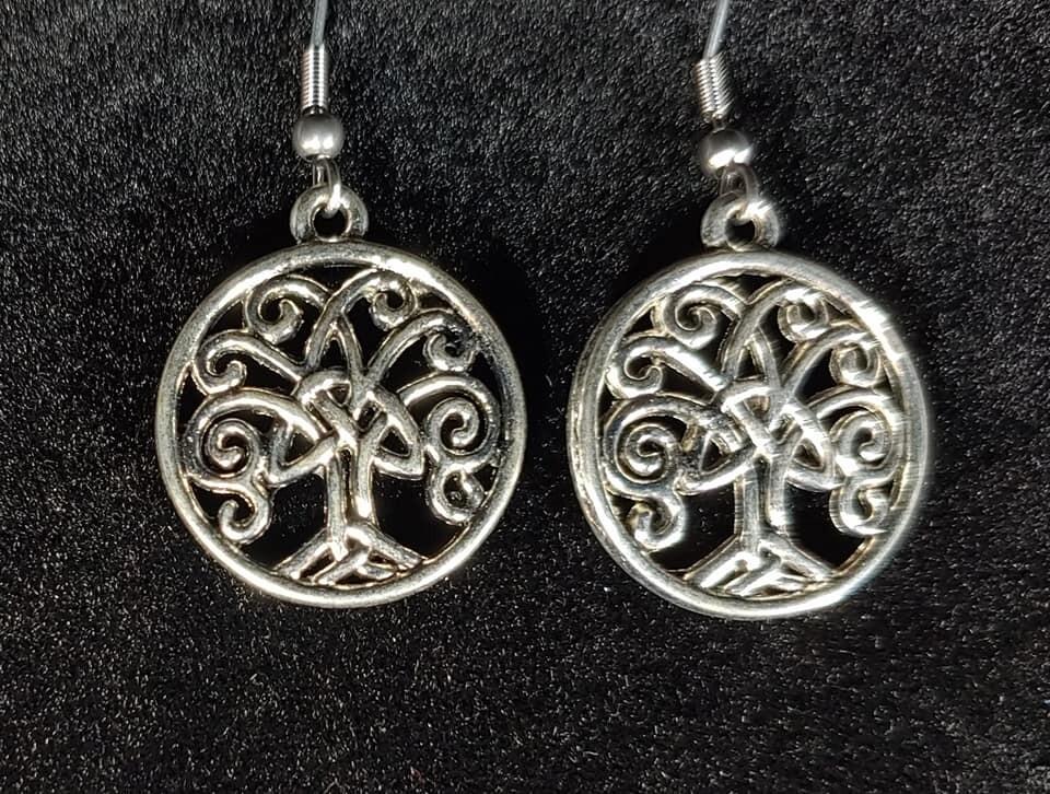 Celtic Tree Earrings
