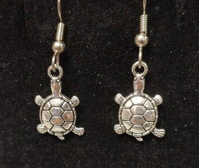 Turtle Earrings Small