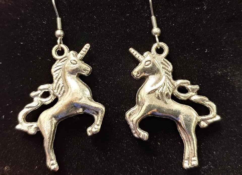 Unicorn Earrings - Larger