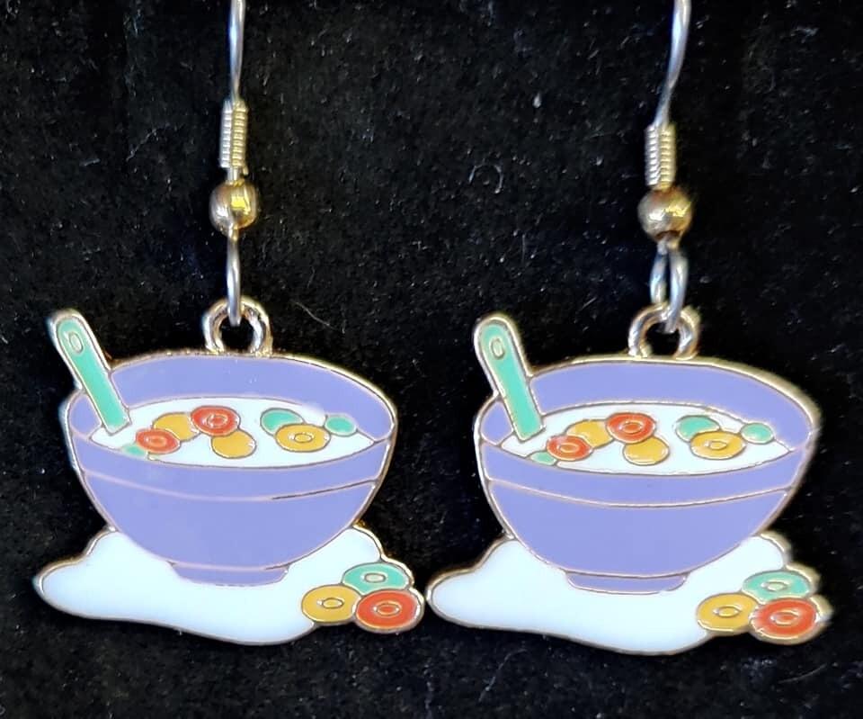 Bowl of Yum Earrings