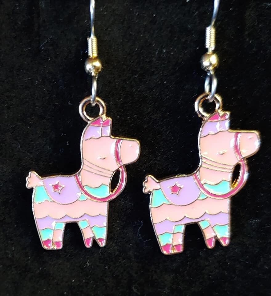 Llama Piniata Earrings