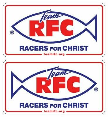 Racers For Christ Decal Set Medium