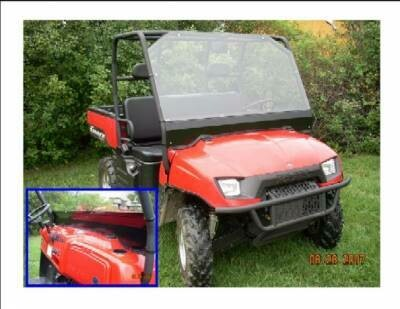 EMP Polaris Ranger Full Windshield