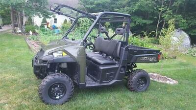 EMP Full Size Polaris Ranger Flip-Up Windshield