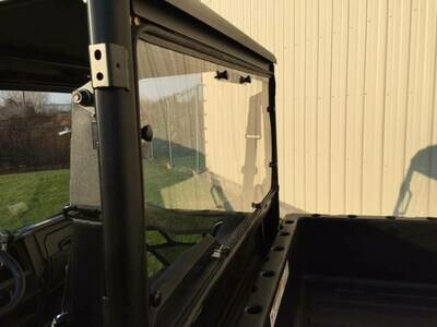 EMP 2015-19 Mid-Size Polaris Ranger Hard Coated Cab Back/Rear Dust Stopper (fits: stock PRO-FIT cage)