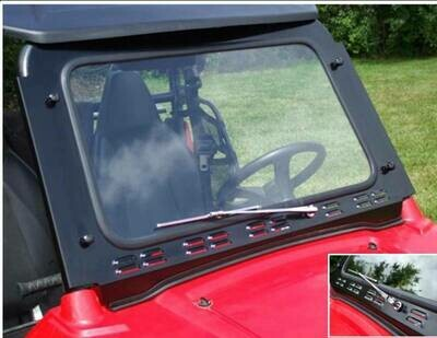 EMP RZR Laminated Safety Glass Windshield with Wiper