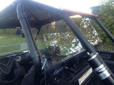 EMP RZR XP1000 Cab Back / Dust Stopper (polycarbonate)