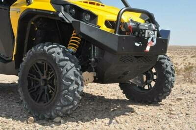 EMP Commander Front Bumper / Brush Guard with Winch Mount