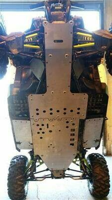 EMP Maverick XDS Full Belly Skid Plate (4 pc's)