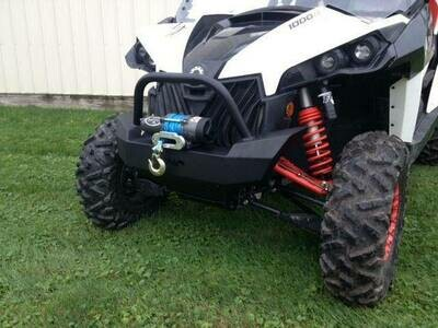 EMP Maverick Front Bumper/ Brush Guard with Winch Mount
