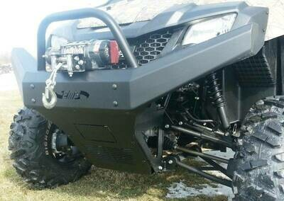 EMP Pioneer 700 Front Bumper / Brush Guard with Winch Mount