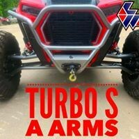 L&W Fab Turbo S High Clearance Upper A Arm Set (Upper A Arms only)