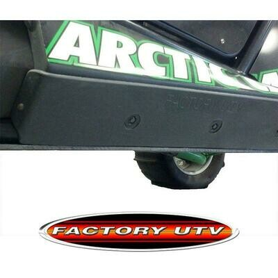 Factory UTV Arctic Cat Wildcat 1000 UHMW Rock Slider Guards