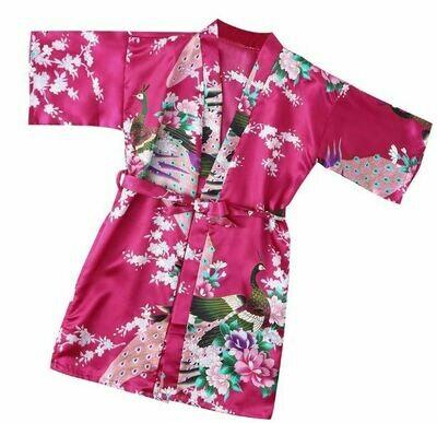 Pink/Purple Kimono Robes