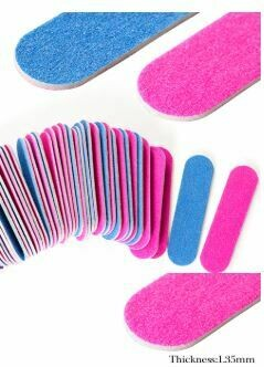 Double Side Mini Disposable Nail File