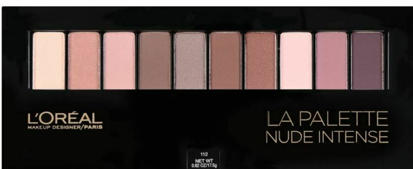 L'Oreal La Palette Nude Eyeshadow  112 Nude Intense